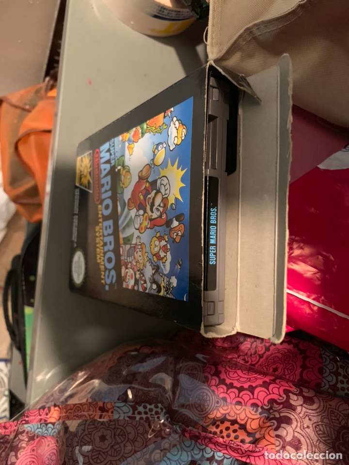 Videojuegos y Consolas: JUEGO NINTENDO NES - SUPER MARIO BROS - COMPLETO - Foto 5 - 110658000