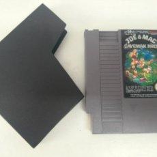 Videojuegos y Consolas: JOE & MAC CAVEMAN NINJA PARA NINTENDO NES!!. Lote 161379190