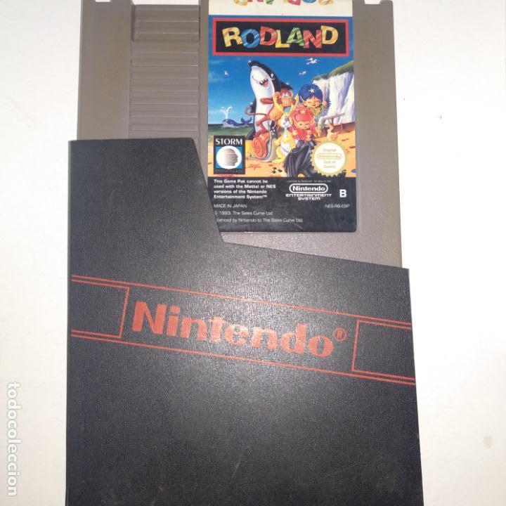 JUEGO NINTENDO NES RODLAND (Juguetes - Videojuegos y Consolas - Nintendo - Nes)