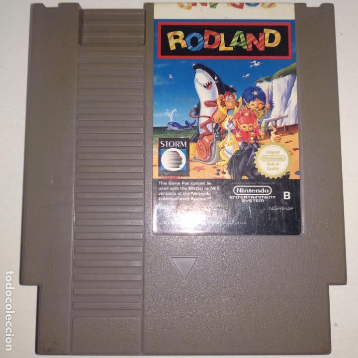 Videojuegos y Consolas: JUEGO NINTENDO NES RODLAND - Foto 2 - 162453950