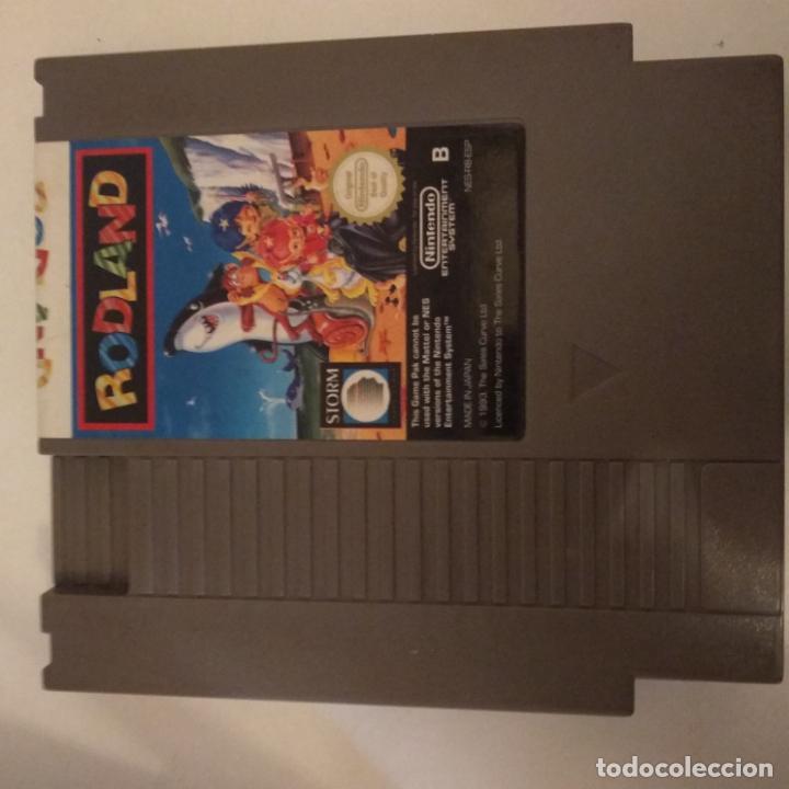 Videojuegos y Consolas: JUEGO NINTENDO NES RODLAND - Foto 4 - 162453950