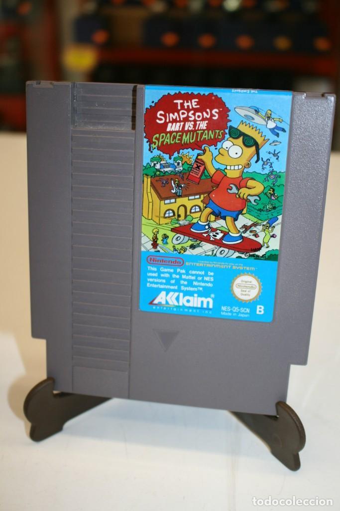 THE SIMPSONS BART VS. THE SPACE MUTANTS (Juguetes - Videojuegos y Consolas - Nintendo - Nes)