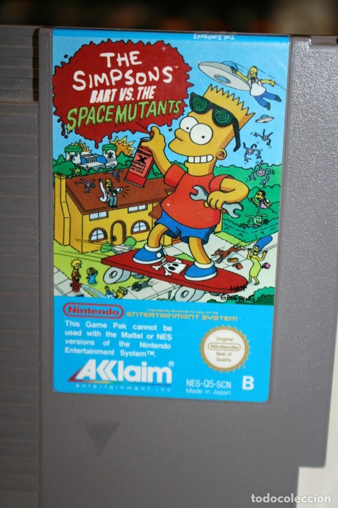 Videojuegos y Consolas: The Simpsons Bart VS. The Space Mutants - Foto 2 - 162567958