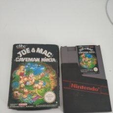 Videojuegos y Consolas: JOE AND MAC CAVEMAN NINJA NES. Lote 162783626