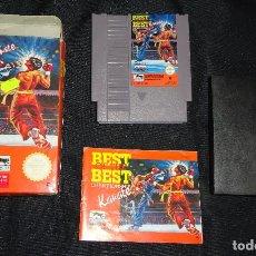 Videojuegos y Consolas: JUEGO NINTENDO NES - BEST OF THE BEST KARATE - COMPLETO - PAL ESPAÑA. Lote 163898934