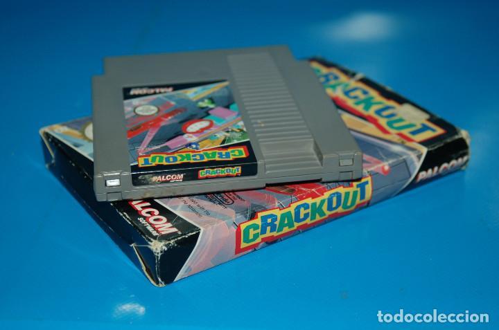 Videojuegos y Consolas: Juego Nintendo NES · Nintendo NES CRACKOUT- buen estado - Foto 2 - 164897606