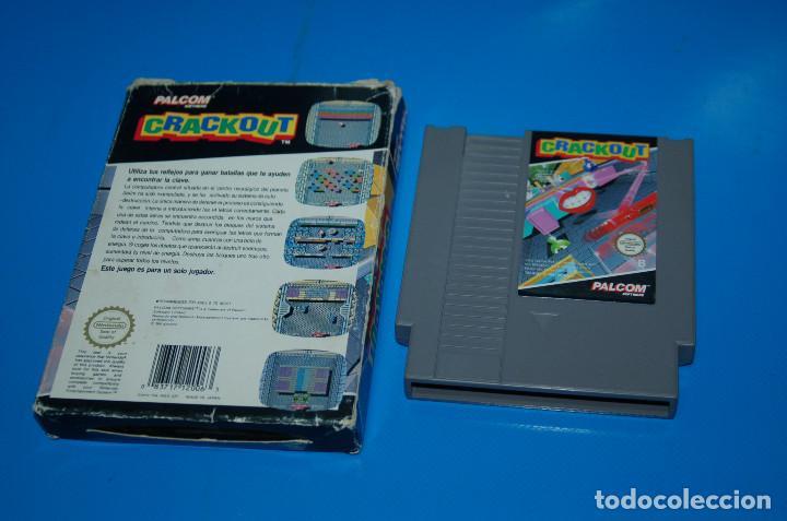 Videojuegos y Consolas: Juego Nintendo NES · Nintendo NES CRACKOUT- buen estado - Foto 3 - 164897606