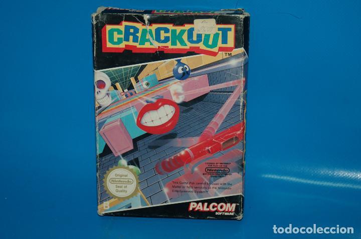 Videojuegos y Consolas: Juego Nintendo NES · Nintendo NES CRACKOUT- buen estado - Foto 4 - 164897606