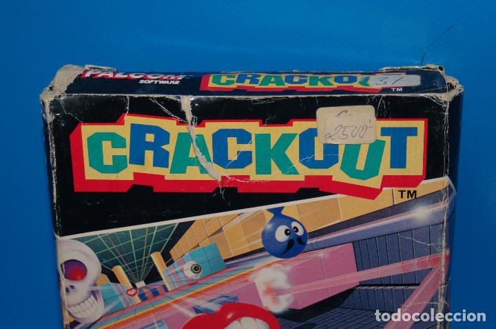Videojuegos y Consolas: Juego Nintendo NES · Nintendo NES CRACKOUT- buen estado - Foto 5 - 164897606