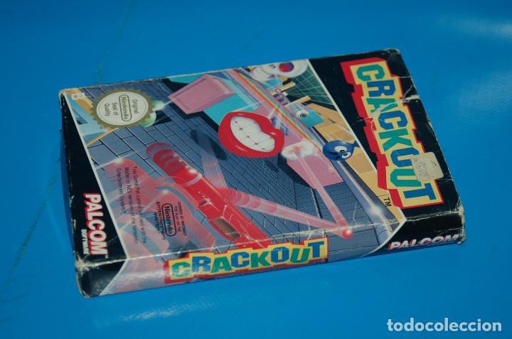 Videojuegos y Consolas: Juego Nintendo NES · Nintendo NES CRACKOUT- buen estado - Foto 6 - 164897606