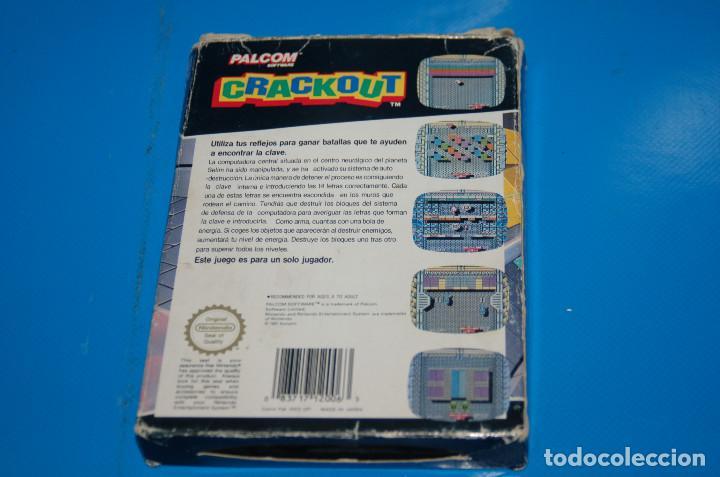 Videojuegos y Consolas: Juego Nintendo NES · Nintendo NES CRACKOUT- buen estado - Foto 8 - 164897606