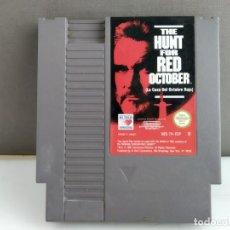 Videojuegos y Consolas: JUEGO PARA NINTENDO NES THE HUNT FOR RED OCTOBER . Lote 165482410