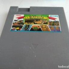Videojuegos y Consolas: ANTIGUO CARTUCHO CLONICO PARA NINTENDO NES 400 JUEGOS EN 1 . Lote 165980566