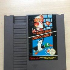 Videojuegos y Consolas: CARTUCHO NES SUPER MARIO BROS DUCK HUNT. Lote 166959198