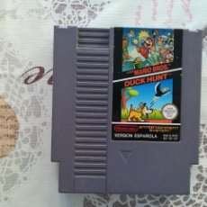 Videojuegos y Consolas: SUPER MARIO BROS + DUCK HUNT NES PAL ESP. Lote 167264828