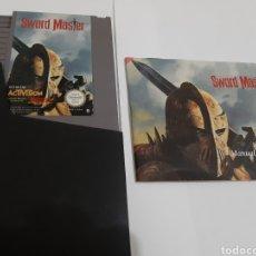 Videojuegos y Consolas: SWORD MASTER NINTENDO NES CARTUCHO E INSTRUCCIONES PAL B ESPAÑA. Lote 167480173