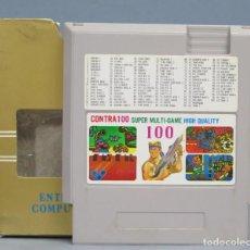 Videojuegos y Consolas: JUEGO. CONTRA 100. SUPER MULTI-GAME. NINTENDO NES. Lote 167630736