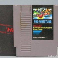 Videojuegos y Consolas: JUEGO. PRO WRESTLING. NINTENDO NES. Lote 167631692