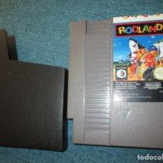 Videojuegos y Consolas: NINTENDO NES ~ RODLAND ~ PAL/ESP.. Lote 168339728