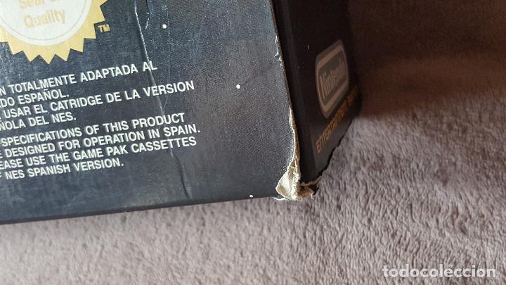 Videojuegos y Consolas: CONSOLA NINTENDO NES ACTION SET VERSIÓN ESPAÑOLA - Foto 3 - 176545037