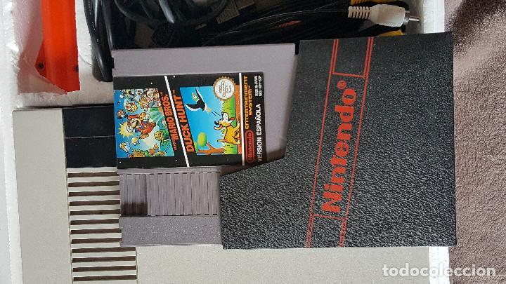 Videojuegos y Consolas: CONSOLA NINTENDO NES ACTION SET VERSIÓN ESPAÑOLA - Foto 8 - 176545037