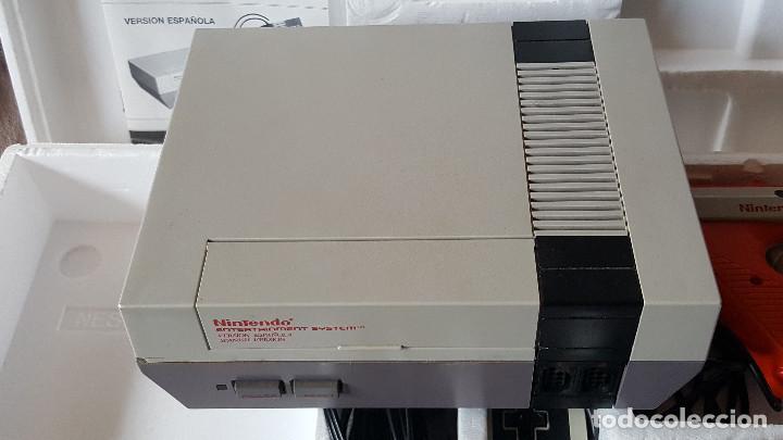Videojuegos y Consolas: CONSOLA NINTENDO NES ACTION SET VERSIÓN ESPAÑOLA - Foto 10 - 176545037