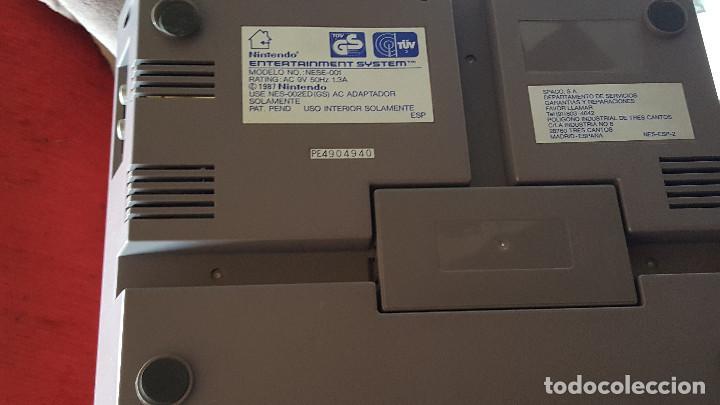 Videojuegos y Consolas: CONSOLA NINTENDO NES ACTION SET VERSIÓN ESPAÑOLA - Foto 13 - 176545037