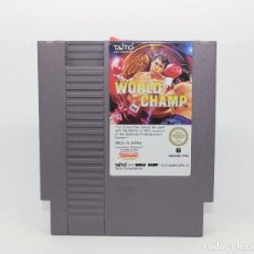 Videojuegos y Consolas: WORLD CHAMP NINTENDO NES PAL. Lote 169390284