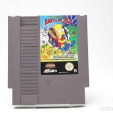 Videojuegos y Consolas: THE SIMPSONS BART VS THE WORLD NINTENDO NES. Lote 169511008