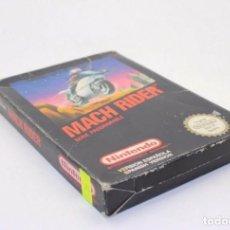 Videojuegos y Consolas: MACH RIDER NINTENDO NES PAL. Lote 169593832