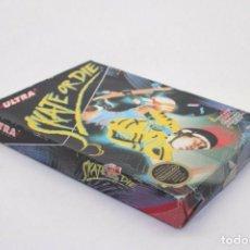Videojuegos y Consolas: SKATE OR DIE NINTENDO NES USA. Lote 169722484