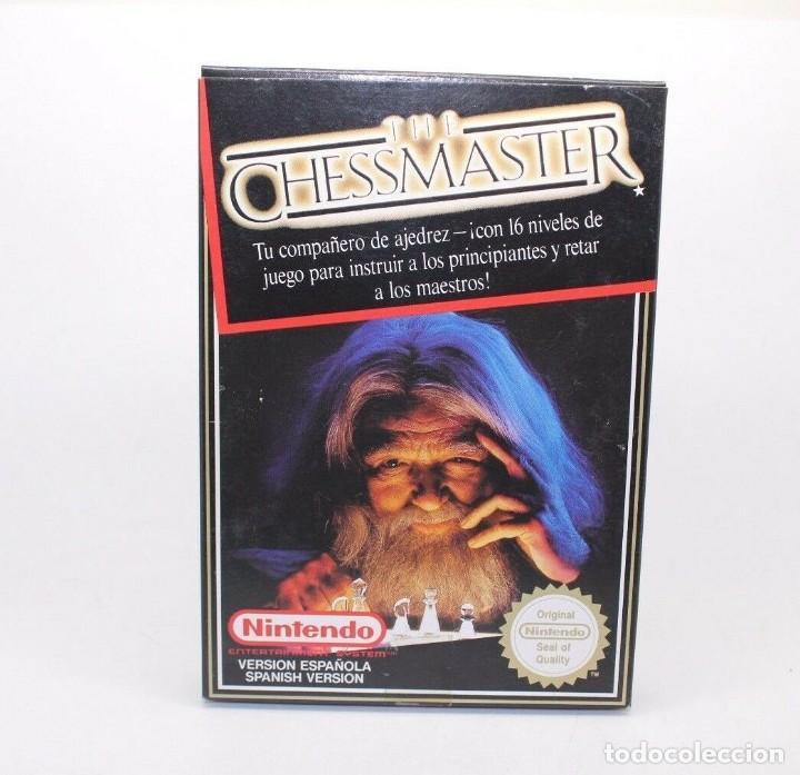 THE CHESSMASTER NINTENDO NES PAL ESP (Juguetes - Videojuegos y Consolas - Nintendo - Nes)