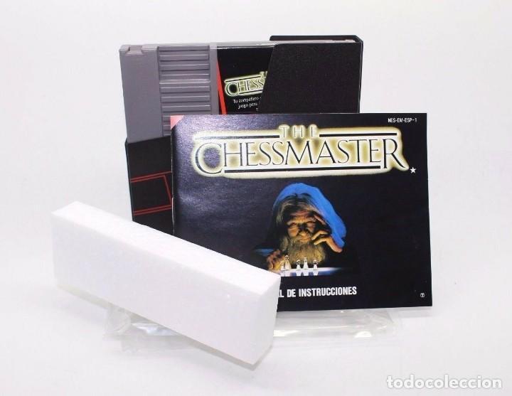 Videojuegos y Consolas: THE CHESSMASTER NINTENDO NES PAL ESP - Foto 5 - 169723376