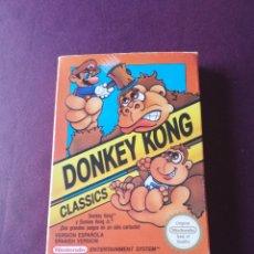 Videojuegos y Consolas: DONKEY KONG CLASSICS NINTENDO NES COMPLETO. Lote 170573950