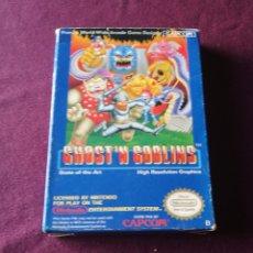 Videojogos e Consolas: GHOST'N GOBLINS NINTENDO NES. Lote 171070499