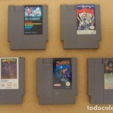 Videojuegos y Consolas: LOTE JUEGOS NINTENDO NES (VER DESCRIPCIÓN). Lote 171209118