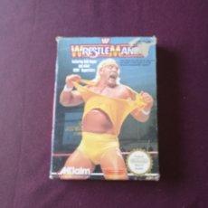 Jeux Vidéo et Consoles: WRESTLEMANIA NINTENDO NES. Lote 171280267