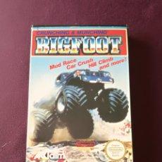 Videojogos e Consolas: BIG FOOT NINTENDO NES. Lote 171344225
