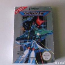 Videojuegos y Consolas: GRADIUS NES NINTENDO JAPAN 1988 CON LA CAJA COMPLETO MIRAR FOTOS. Lote 171418488