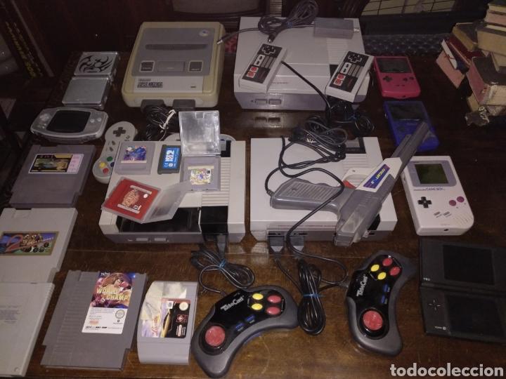 LOTE NINTENDO CONSOLAS Y JUEGOS VER DESCRIPCIÓN (Juguetes - Videojuegos y Consolas - Nintendo - Nes)