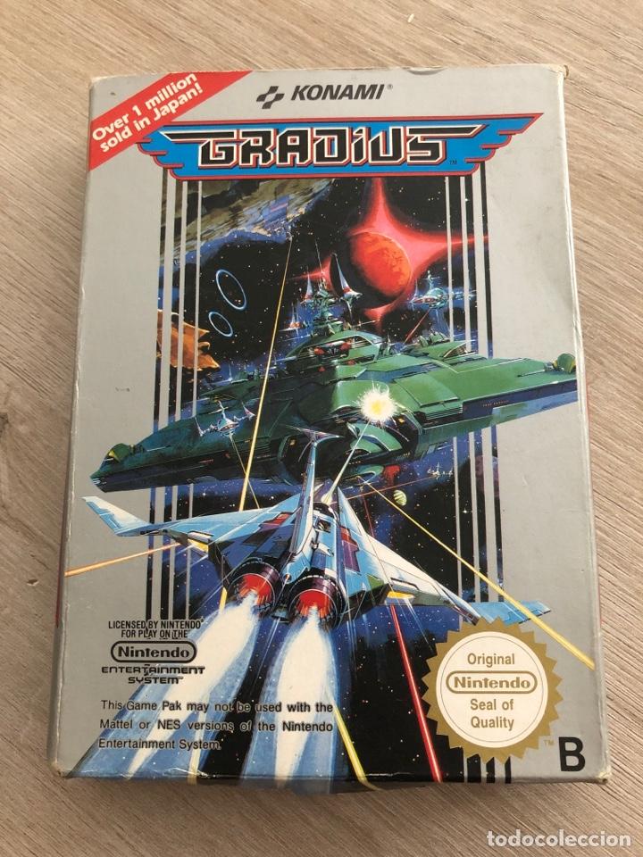 GRADIUS NES (Juguetes - Videojuegos y Consolas - Nintendo - Nes)