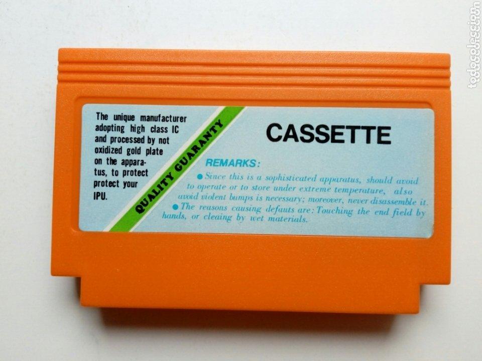 Videojuegos y Consolas: Cartucho NTDE (60 pins) - LAS TORTUGAS NINJA - clónico Nintendo NES - (TEENAGE MUTANT HERO TURTLES) - Foto 2 - 172567195