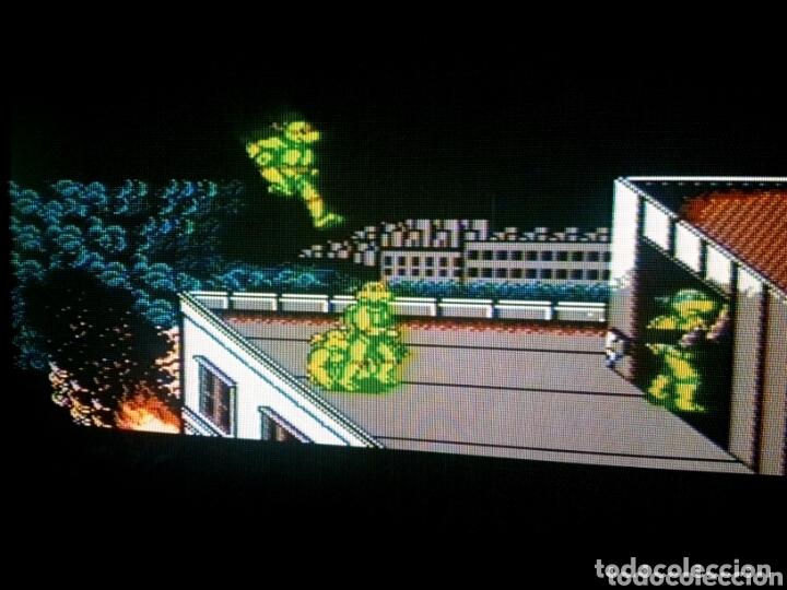 Videojuegos y Consolas: Cartucho NTDE (60 pins) - LAS TORTUGAS NINJA - clónico Nintendo NES - (TEENAGE MUTANT HERO TURTLES) - Foto 5 - 172567195