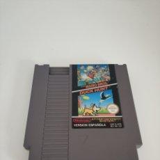 Videojuegos y Consolas: SUPER MARIO BROS 1 Y DUCK HUNT NES. Lote 172729820