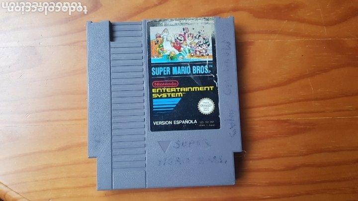 JUEGO NINTENDO NES SUPER MARIO BROS VERSION ESPAÑOLA 1985 CARTUCHO (Juguetes - Videojuegos y Consolas - Nintendo - Nes)