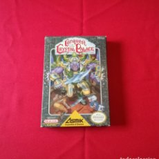 Videojuegos y Consolas: CONQUEST OF THE CRYSTAL PALACE NINTENDO NES COMPLETO Y PERFECTO. Lote 172941710