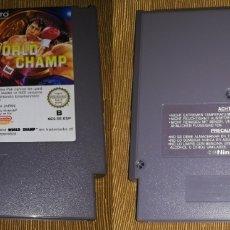 Videojuegos y Consolas: WORLD CHAMP ORIGINAL NINTENDO NES PAL B ESPAÑA. Lote 172950495