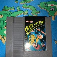 Videojuegos y Consolas: SKATE OR DIE NINTENDO NES. Lote 172993570
