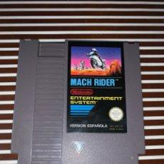 Videojuegos y Consolas: MACH RIDER NINTENDO NES VERSION ESPAÑOLA. Lote 172999418