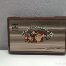 Videojuegos y Consolas: GAME AND WATCH DONKEY KONG II DE NINTENDO. Lote 173621873
